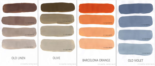 Annie Sloan Chalk Paint Mix Chart